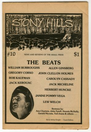STONY HILLS #10. Beat Writers, Kit Knight, Arthur, guest.