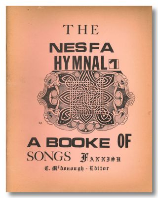 NESFA HYMNAL (1) ... A BOOKE OF SONGS FANNISH.