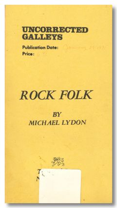 ROCK FOLK. Michael Lyon