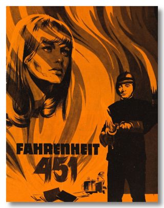 Danish Program for:] FAHRENHEIT 451. Ray Bradbury, sourcework