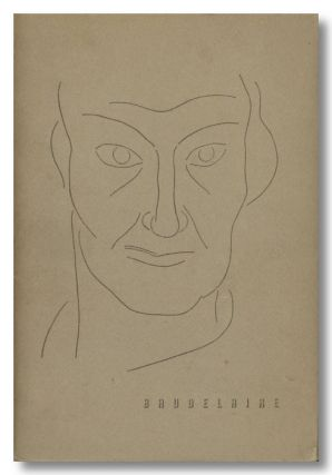THE MIRROR OF BAUDELAIRE ... WITH A PREFACE BY PAUL ELUARD AND A DRAWING BY HENRI MATISSE. ed, trans
