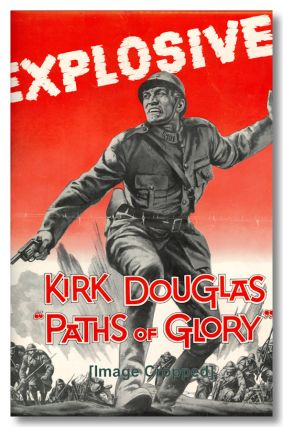 Original Studio Publicity Campaign Pressbook for:] PATHS OF GLORY. Humphrey Cobb, sourcework