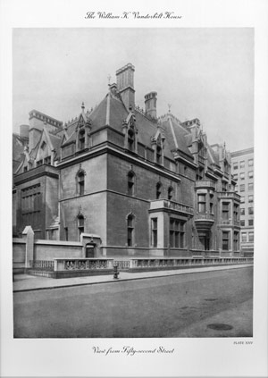 A MONOGRAPH OF THE WILLIAM K. VANDERBILT HOUSE RICHARD MORRIS HUNT ARCHITECT. Robert M. Hunt,...