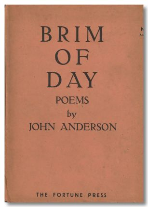 BRIM OF DAY. John Anderson