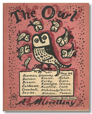 THE OWL A MISCELLANY. Robert Graves, ed