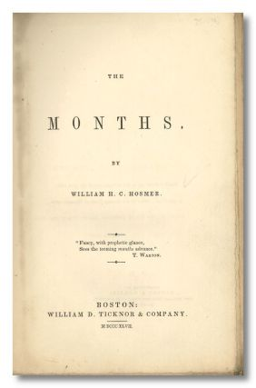 THE MONTHS. William H. C. Hosmer