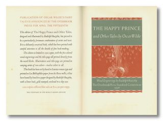 A PROSPECTUS OF THE HAPPY PRINCE AND OTHER TALES BY OSCAR WILDE ... [caption title