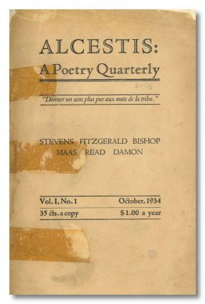 ALCESTIS: A POETRY QUARTERLY. Alcestis