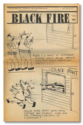 BLACK FIRE. African American Student paper