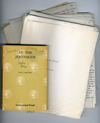 Corrected typed manuscript of] AT THE JERUSALEM. Paul Bailey